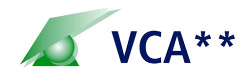 VCA certificaat logo