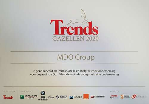 Trends Gazelle Nominatie 2020 MDO GROUP